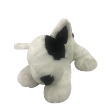 White And Black Plush Dog