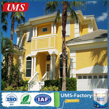 Exterior masonry paint blue green yellow