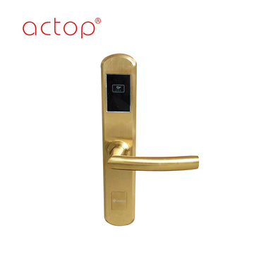 Smart door handle lock system