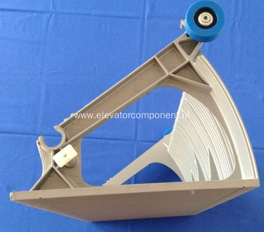 Aluminum Step for Schindler Escalator 9300