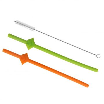 Big Silicone Drinking Straws