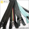 superior quality black 100% waterproof resin zipper