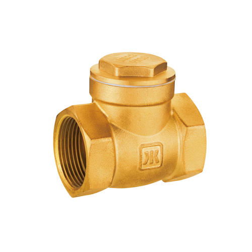 J408 lead free brass swing check valve with meat seat