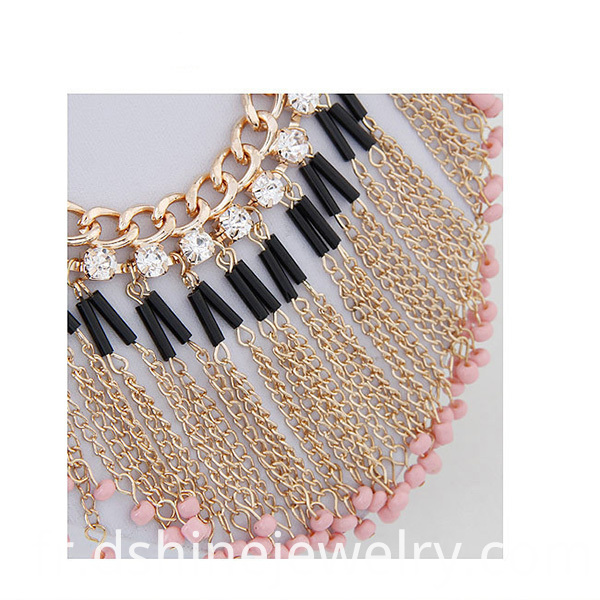 tassel chain necklace