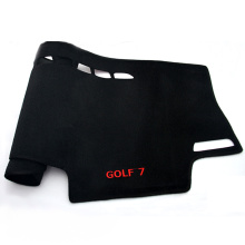 Anti-slip car dashboard cover mats for Golf