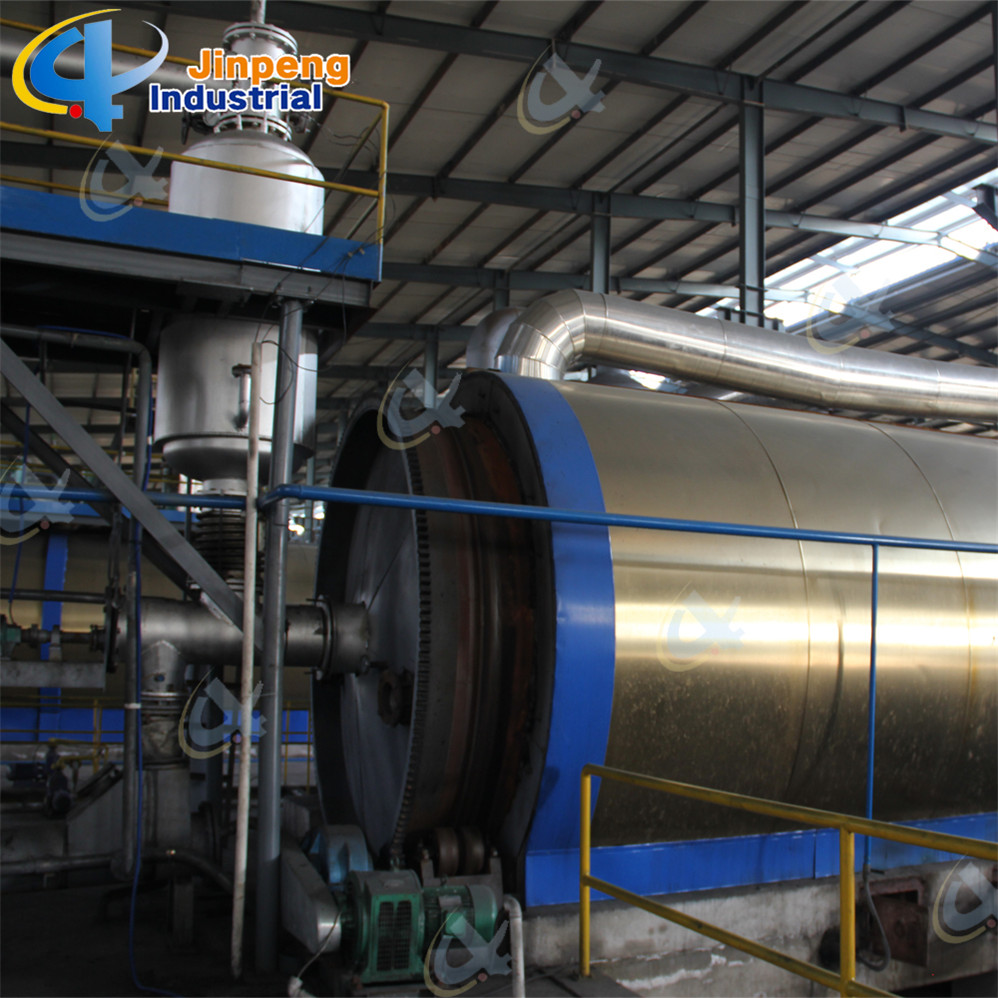 Plastic Recycle to Fuel Oil Machine