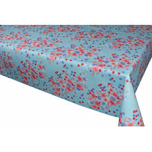 Elegant Tablecloth with Non woven backing Umbrella Hole