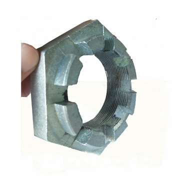 Galvanized Slotted Nut And Castle Nut