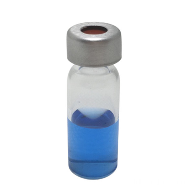 2mL Wide Opening Crimp Top Glass Vials