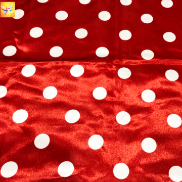 100% Polyester 100d Satin Printed Fabric