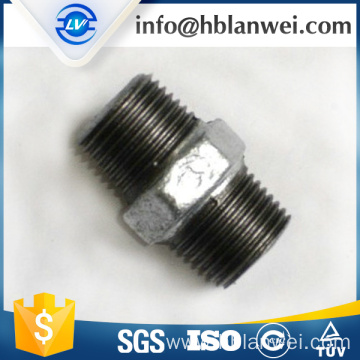 INQO brand galvanized nipple M.I. pipe fittings