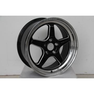 Black Milling window 17inch wheel rim Tuner