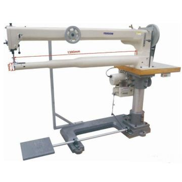 Super Small Cylinder Bed Long Arm Triple Feed Sewing Machine for Golf Bags and Fishing Bags