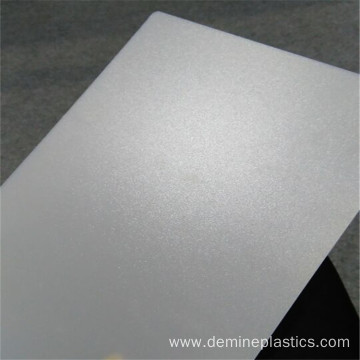 Frosted solid door translucent polycarbonate sheet