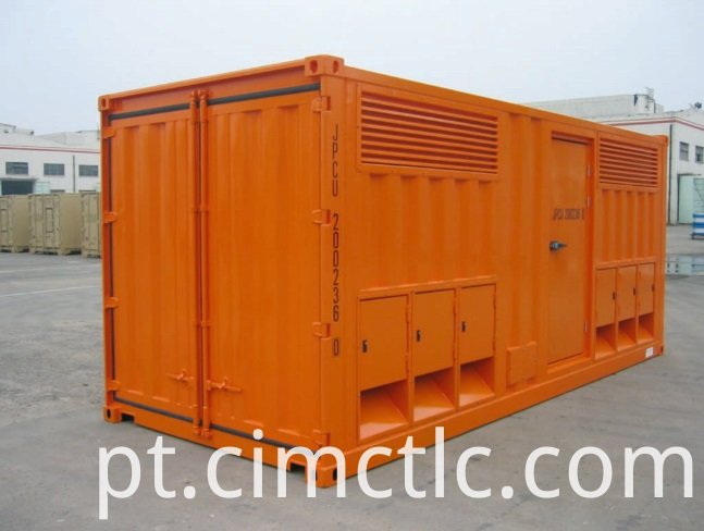 Integrated Transformer Container