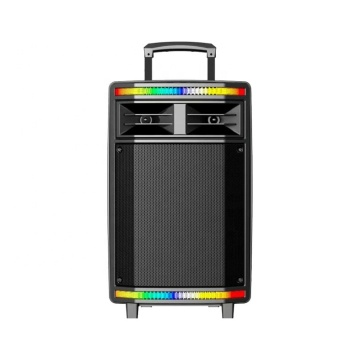 Bluetooth Trolley Speaker with Colorful Lighting