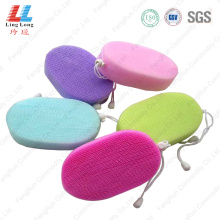Colorful mesh bath sponge