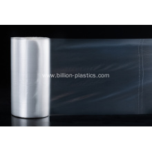 Clear PE Plastic Flat Bag On Roll