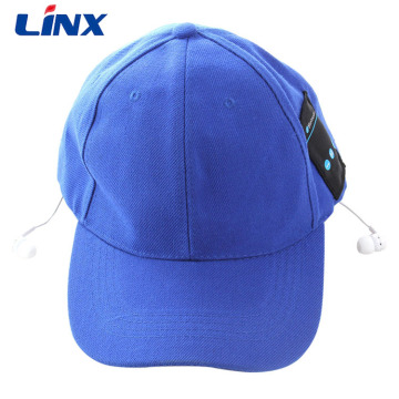 Promotion hot selling Custom logo bluetooth hat headphones