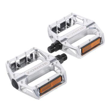 Bike Pedal Flat Aluminum Alloy 9/16 Inchs