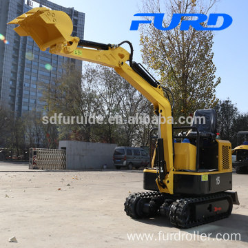 Flat Work Mini Wheel Crawler Excavator For Sale FWJ-900-15