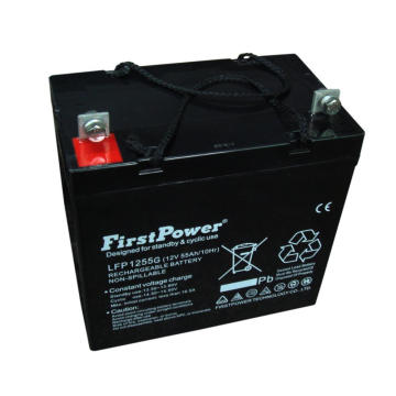 Medical PDA Battery Reserve GEL Battery 12V55AH