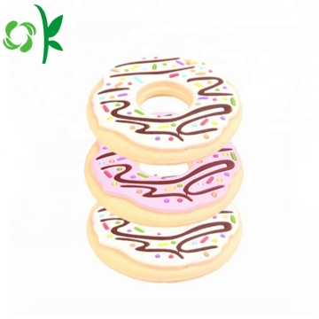 FDA Teething Doughnut Silicone Chew Teether for Baby