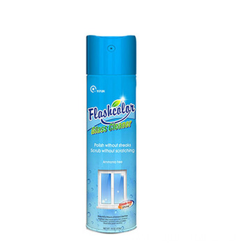 streak-free Shine Glass Cleaner Spray Aerosol Can