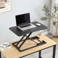 Pneumatic Height Adjustable Standing Desk Riser