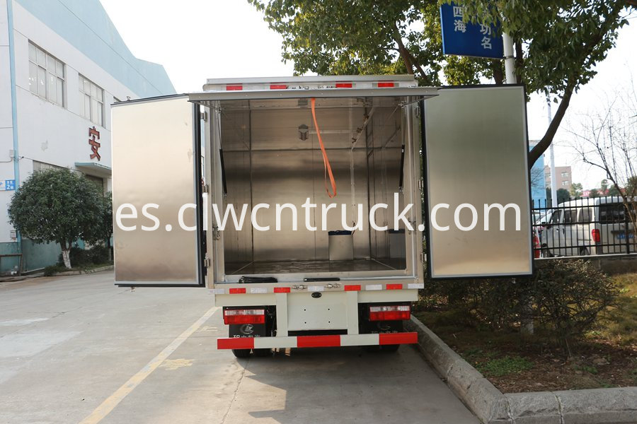 Medical waste transport vehicle 5