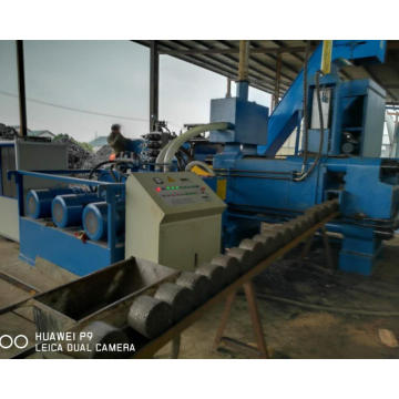 Steel Metal Filings Drilling Cuttings Briquette Machine