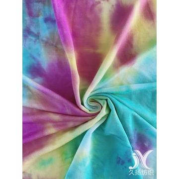 Tie Dye French Terry Fabric