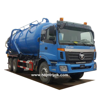 Foton 18 cubic meters Vacuum Sewer Cleaning Truck