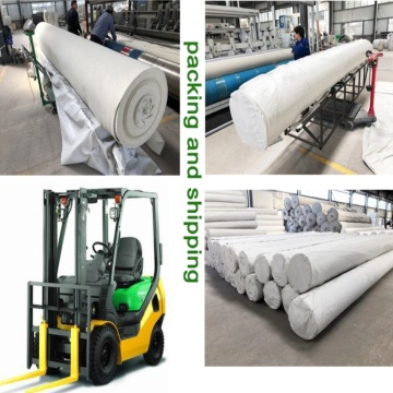 Long fiber geotextile for agriculture industry
