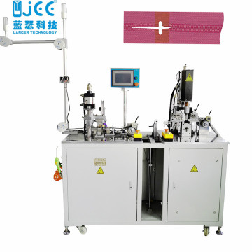 Automatic Nylon Zipper Film Welding And Punching Machine