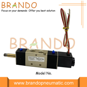 4V220-08 5/2 Way Flying Leads Pneumatic Solenoid Valve