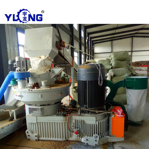 Cotton Stem Pellet Making Machine