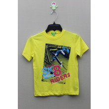 BOY'S 100% COTTON T-SHIRT WITH Cartoon  PRINT