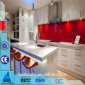 Colored Back Painted Tempered Glass For Kitchen Splashback