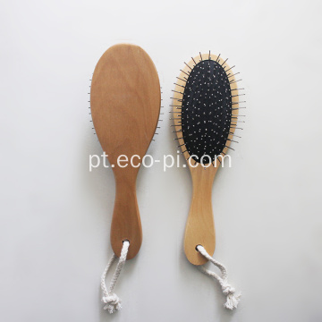 Bambu Fácil Limpeza Pet Grooming Brush