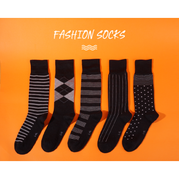 Business modal sock for men-black 5