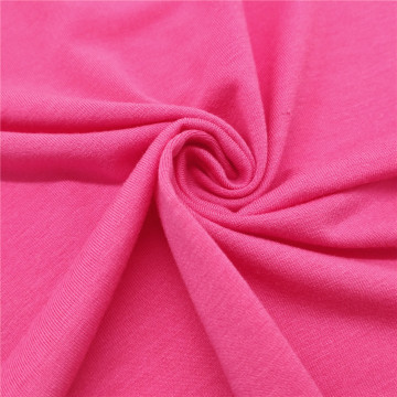 Yoga Sports Shirt Wholesale Rose Red Stretch Fabric