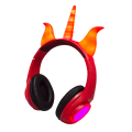 Light Up ricaricabile Wired Over Ear Cuffie Auricolari