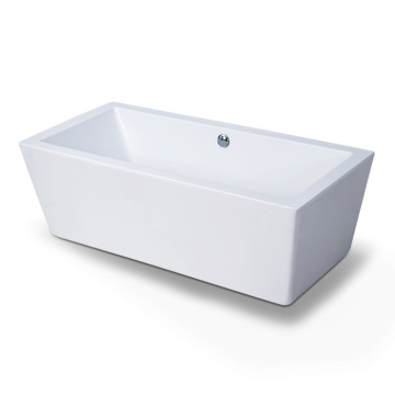 Contemporary Freestanding Corner  Soaking Bathtub
