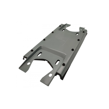 Industrial sheet metal parts for cabinet installation