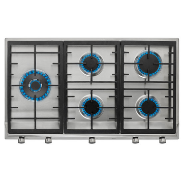 Teka Plates Stainless Steel 5 Burner