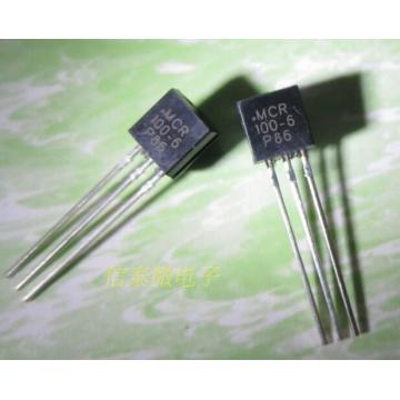 10pcs/lot Mcr100-6 unidirectional thyristor 1a 400v to-92 72 1000 MCR 100-6