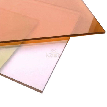 Uv Coating Flat Embossed Sun Solid Polycarbonate Sheet