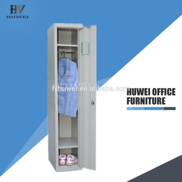 Storage steel one door locker wardrobe