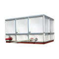 Tangki air tangki persegi Sectional GRP